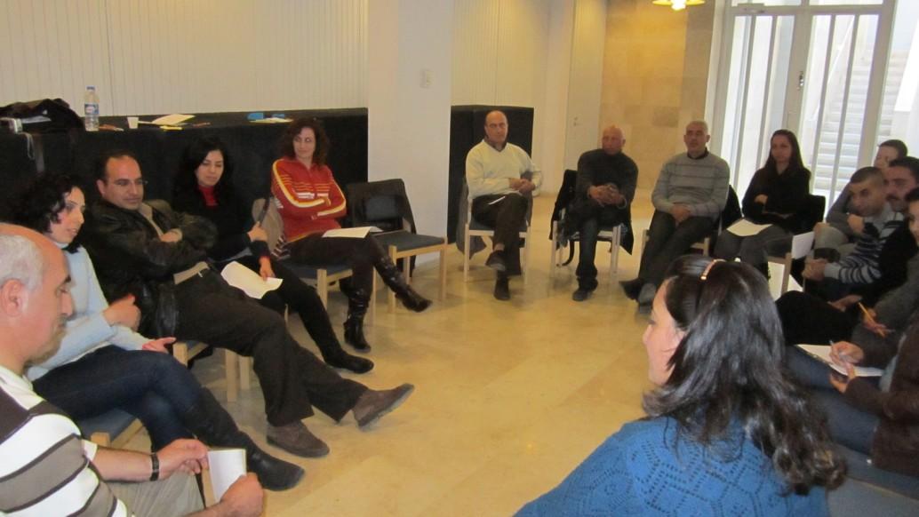 اختتام ورشة العمل الثانية للأزواج في مؤسسة دار الكلمة للصحة المجتمعية- بيت لحم