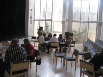 ورشة عمل للأزواج في مؤسسة ديار- دار الندوة في بيت لحم