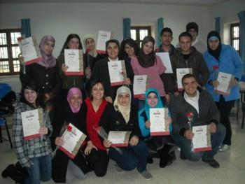 اختتام الدورة الثالثة في جامعة بيت لحم