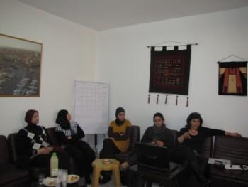 منتدى الجنسانية يستضيف مجموعة من طالبات كلية بيت بيرل بمبادرة مركز