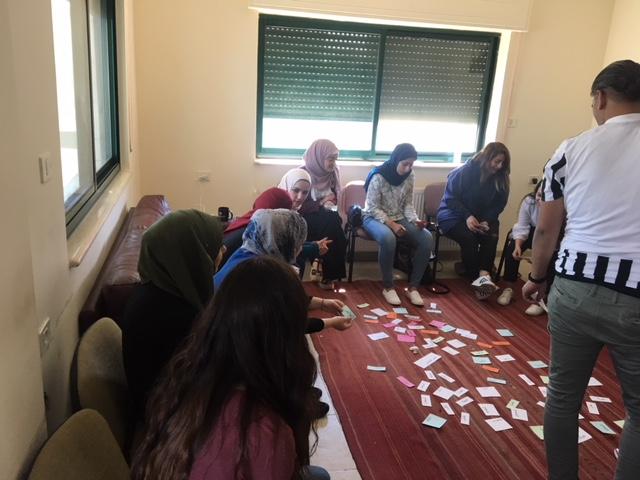 ورشة عمل تدريبية بالتعاون مع دائرة العلوم السلوكية والاجتماعية في جامعة بيرزيت