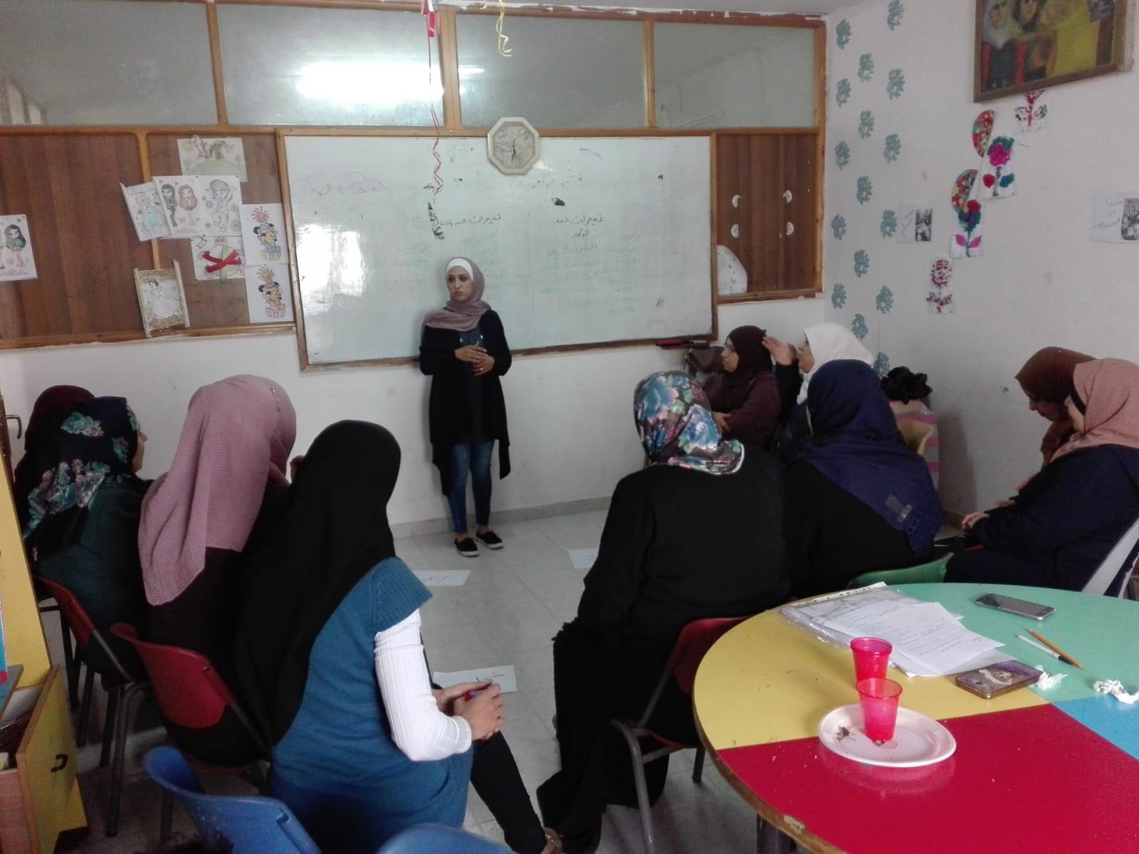 منتدى الجنسانية ينفذ تدريباً لمجموعة أمهات في نابلس حول جنسانية الفرد والأسرة