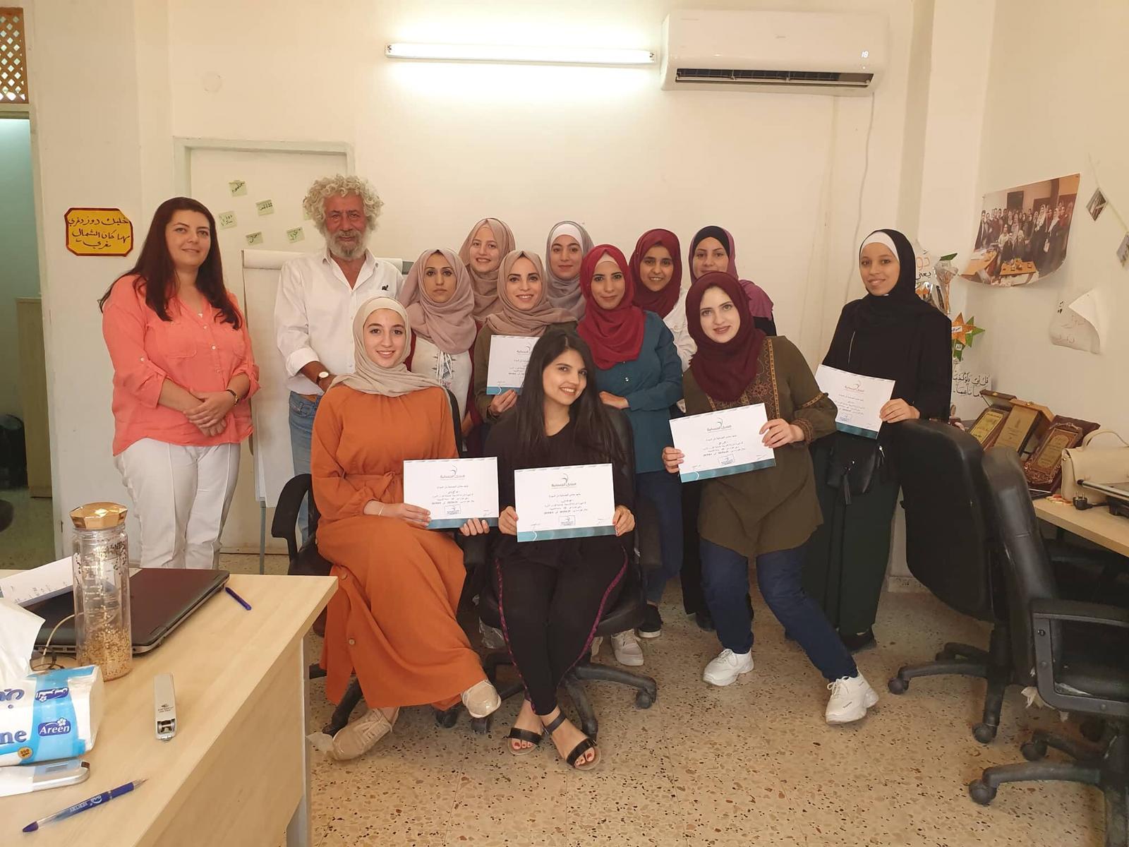 منتدى الجنسانية يختتم تدريباً بالجنسانية لمجموعة صحافيات بنابلس