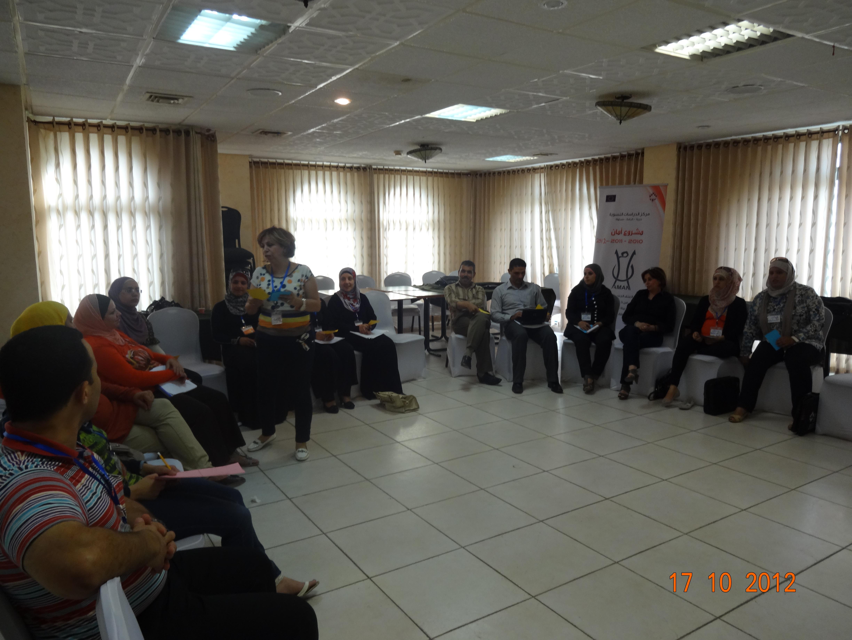 أختتام دورات  تدريبية في الجنسانية مع مركز الدراسات النسوية للمرشدين في أقسام وكالة الغوث