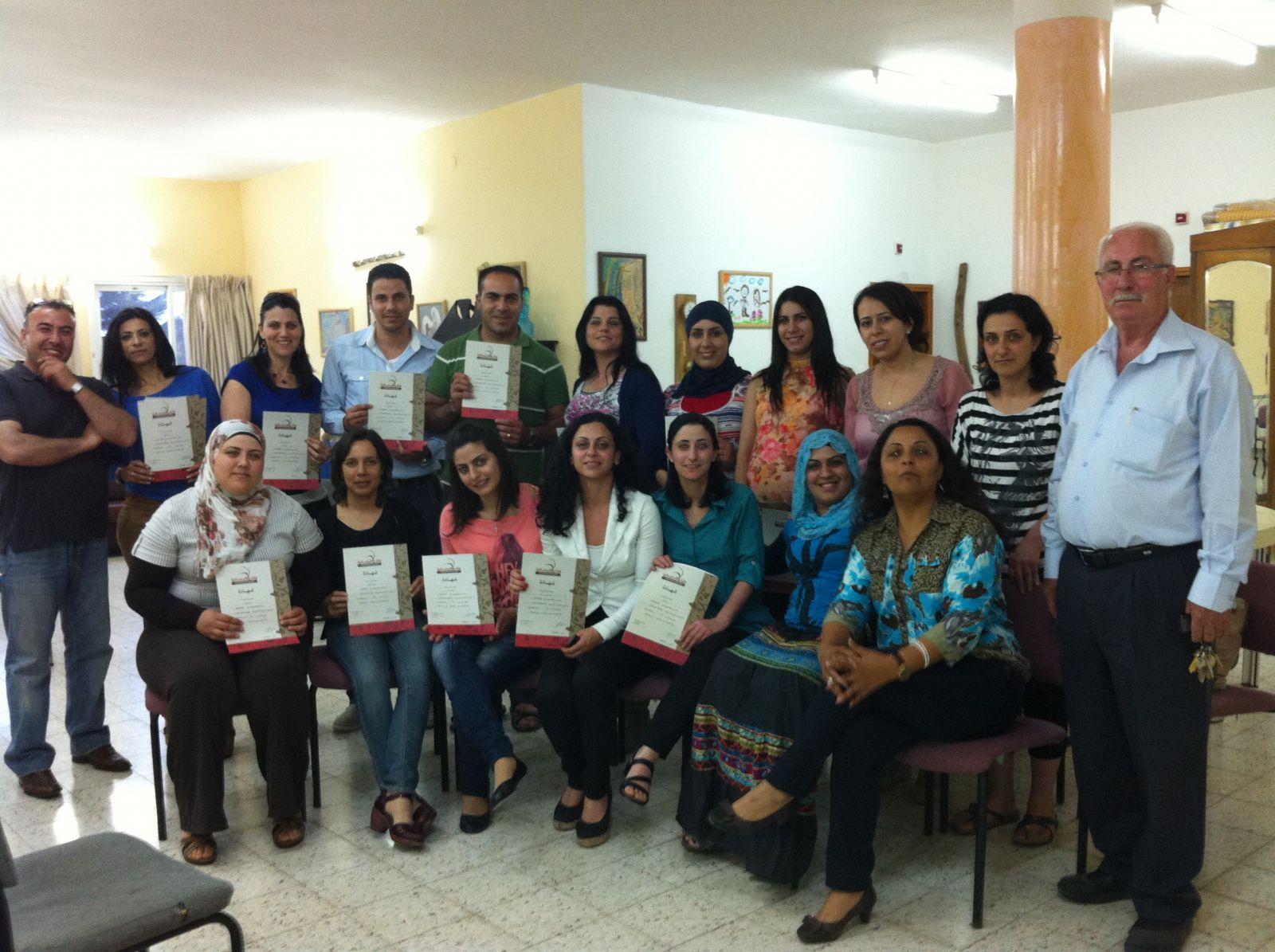اختتام ورشة تدريبية في بيت الحنان للفتيات- النشاشيبي- في عبلين