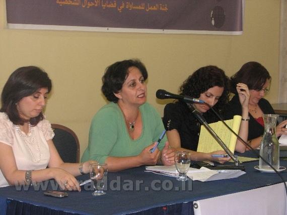 رد لجنة العمل للمساواة في قضايا الاحوال الشخصية على مقالة الشيخ كمال خطيب حول الجمعيات النسوية ومؤتم